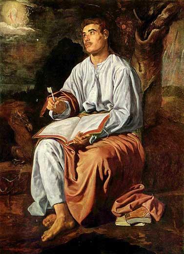 Bildergebnis für Evangelist Johannes